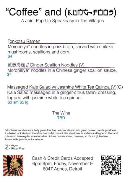 Coffee and Kung Food menu2